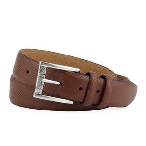 Robert Graham Martin Embossed Leather Belt A6